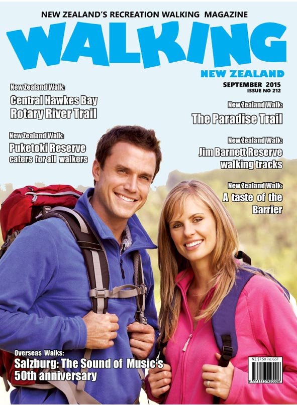 Walking New Zealand  Latest Issue