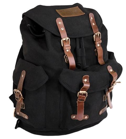 7500 BLK overlander satchel