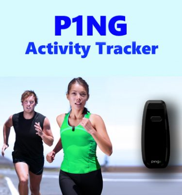 P!NG Activity Tracker Jogging